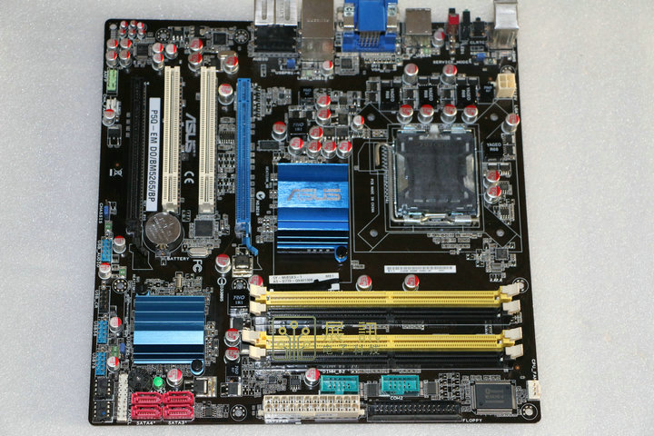 original motherboard ASUS P5Q-EM DO/BM52 DDR2 LGA 775 16GB G45 Desktop motherboard Free shipping original motherboard for asus p5b deluxe lga775 ddr2 965board gigabit ethernet