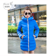 Wadded Clothing Female 2016 New Women's Winter Jacket Down Cotton Jacket Slim Parkas Ladies Coats Plus Size XL-5XL