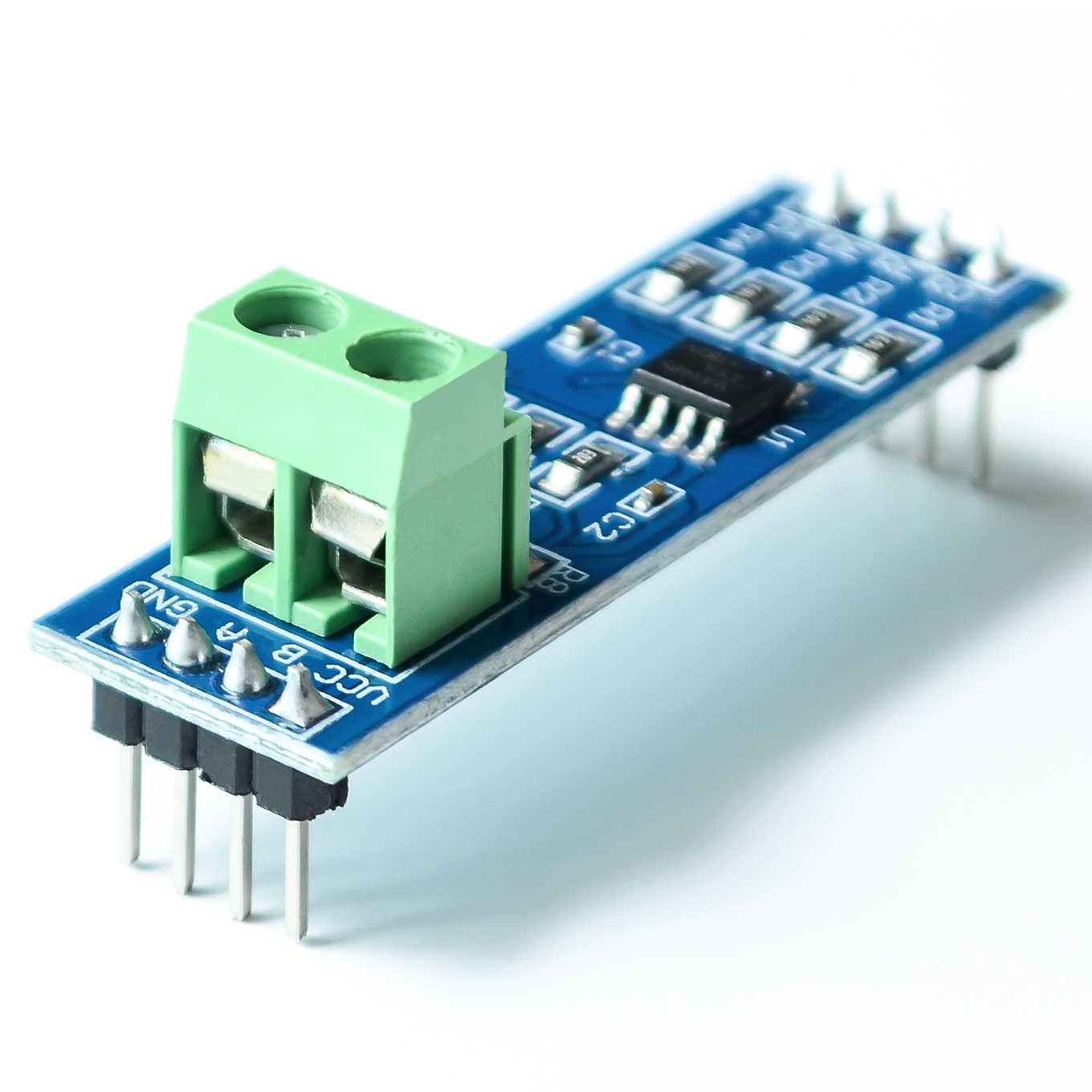 MAX485 Module RS-485 TTL to RS485 MAX485CSA Converter Module   Integrated Circuits Products