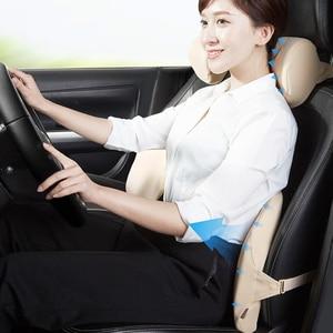 Image 5 - Roidmi cojín para reposacabezas de coche 60D, algodón con sensación de memoria, Lumbar lavable para oficina y coche, envío rápido