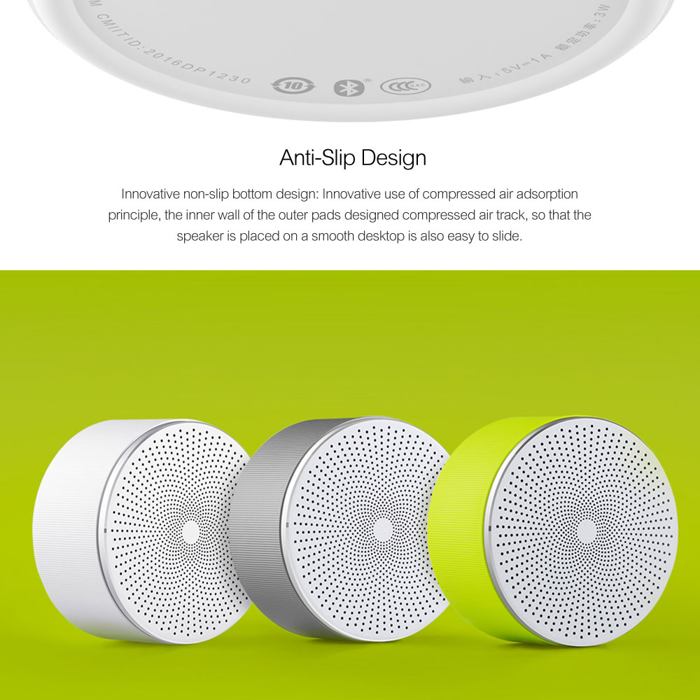 Xiaomi Mi Bluetooth Speaker Stereo Wireless Mini Portable Bluetooth Speakers Music MP3 Player Small Steel Round Speaker 100% Original  (10)