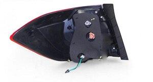 Image 2 - Paraurti auto faro Highlander fanale posteriore, 2012 ~ 2014;LED highlander luce posteriore, Nero/colore Rosso, highlander luce di nebbia