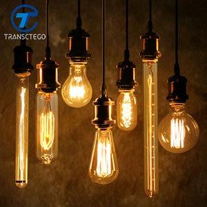 Edison Bulb Antique Vintage Lamp E27 40W 110V 220V Retro Edison Bulbs Personality Eecoration Incandescent Filament Bulb