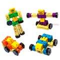Новый Super Cool Автомобилей Преобразования Деревянные Роботы Фигурку Игрушки Дети День Рождения Подарки Brinquedos Герои 4 Цвет Премьер-Куклы