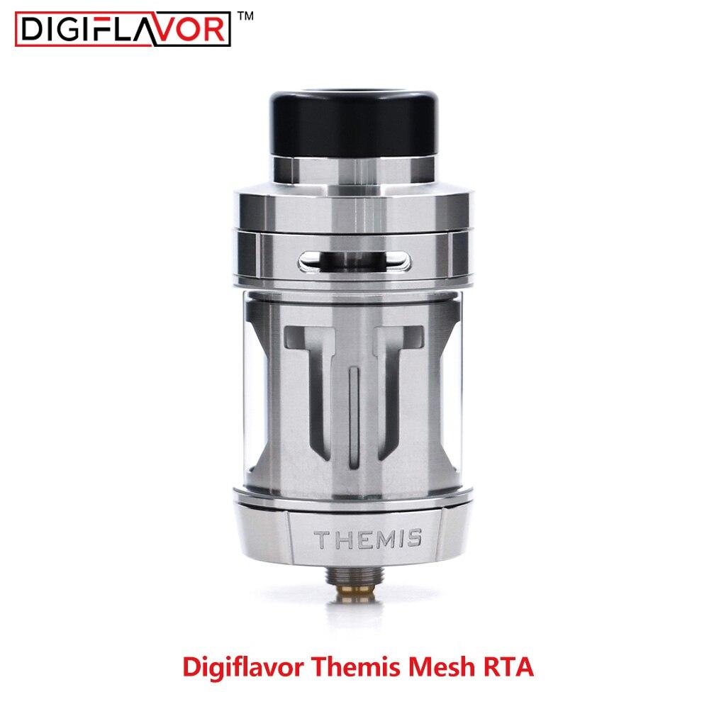 Neue Digiflavor Themis Mesh RTA version RTA fit Mesh Draht SS316L Dicht Atomzier inspiriert durch Zeus Vape E zigarette Zerstäuber