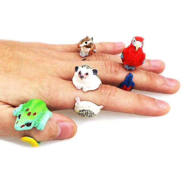 YYW Nozze animale bend anello divertente signora trency donna animal 3D anello H