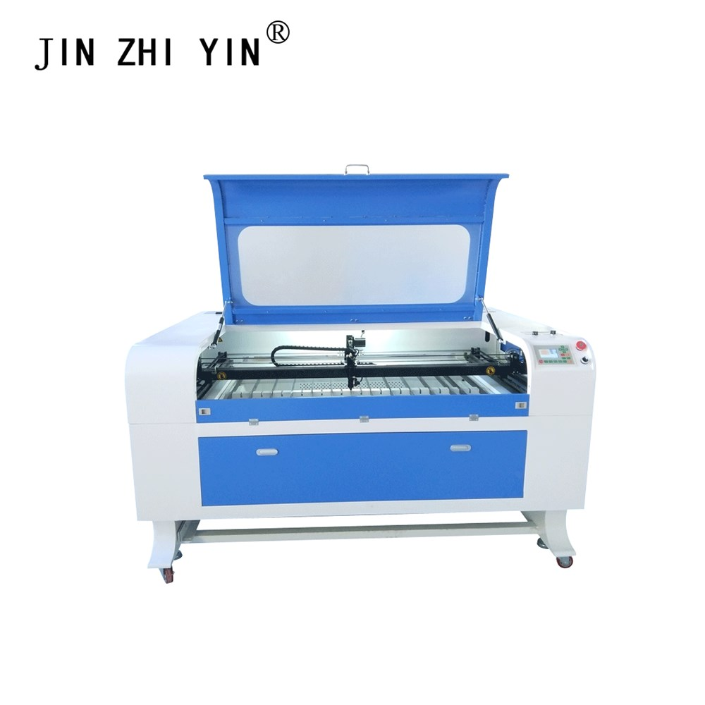 1390 Blue White Co2 Laser Cutting Machine 100W Ruida System 3d Laser Engraving Machine For Wood Leather PVC MDF Stone
