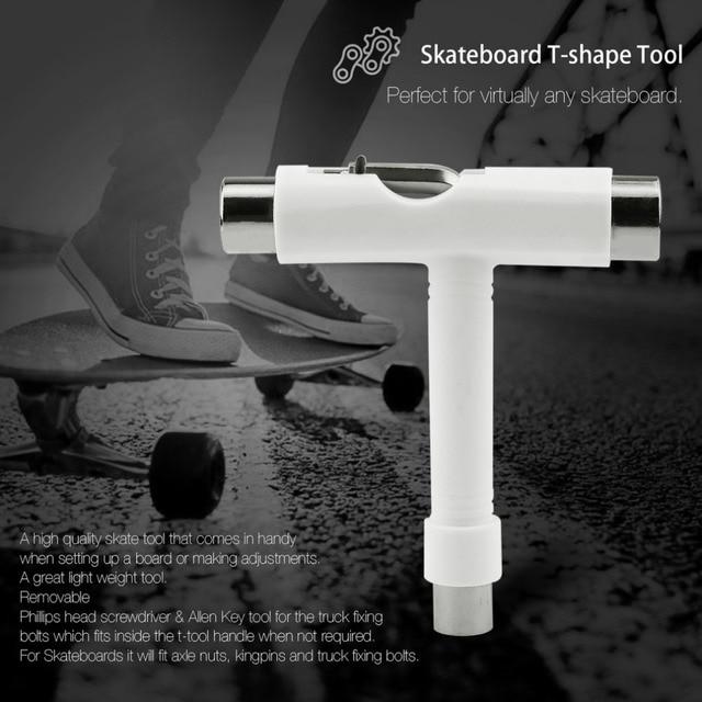 Скейтборд-скутер Лонгборд Т-образная многофункциональный ключ регулирующий инструмент f