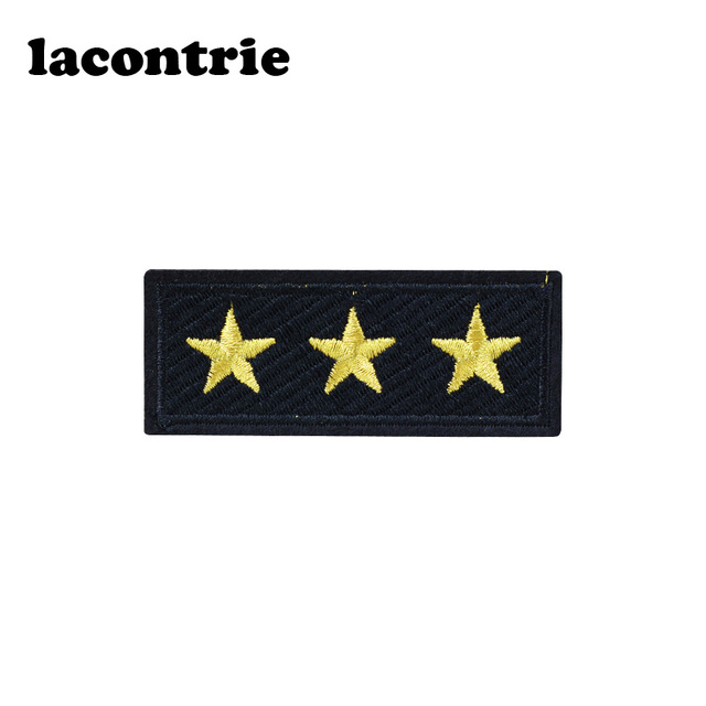 Stars Stripe Patches For Clothing Diy Military Badge Embroidery