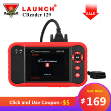 Original Launch Creader 129 CRP129 OBD2 Code Reader CRP 129 OBDII Scanner PK X431 Creader VIII CRP123 Auto Diagnostic Tool