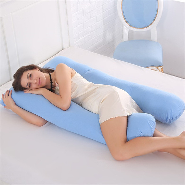 Maternity U Shaped Body Pillows Body Pregnancy Pillow For Pregnant Women Body Pregnancy Pillow For Side Sleeper Removable Cover
