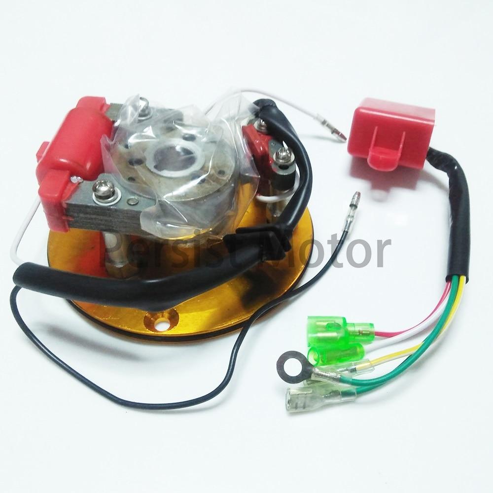 1*Magneto Stator Rotor Kit Fit 110cc 125cc 140cc Lifan YX Engine Pit Dirt Bike