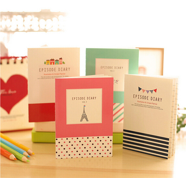 16 Design Mini Smiley Diary Notebook Memo Paper Diary Planner - diary design