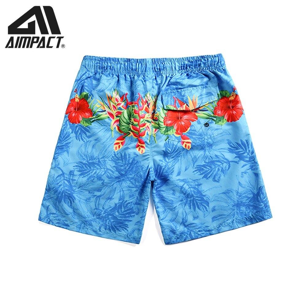 2019 New Quick Dry Beachwears for Men Flower   Board     Shorts   Summer Surf Swimming   Shorts   Male Swim Trunks Hybird   Shorts   AM2112