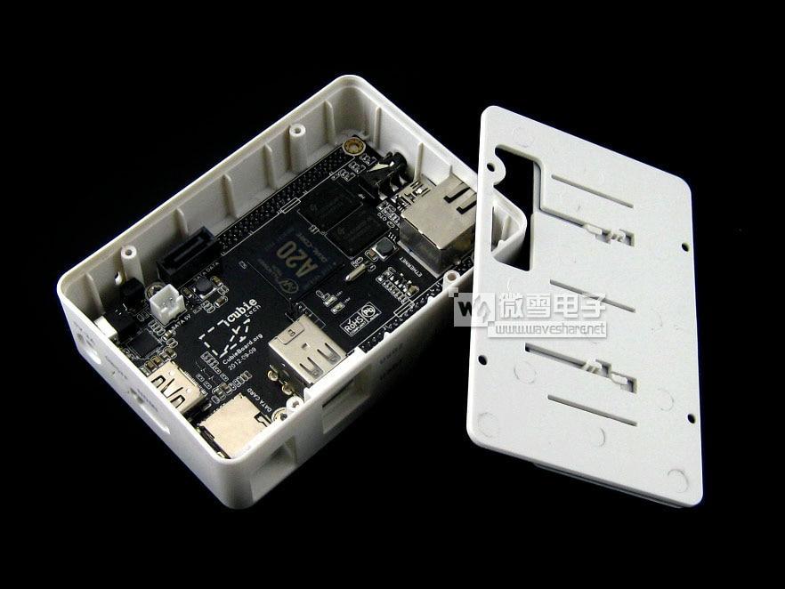 PC Cubieboard2 Cubieboard A20 ARM Cortex-A7 Dual Core 1GB DDR3 Development Board with case Cubieboard 2,super than Raspberry PI
