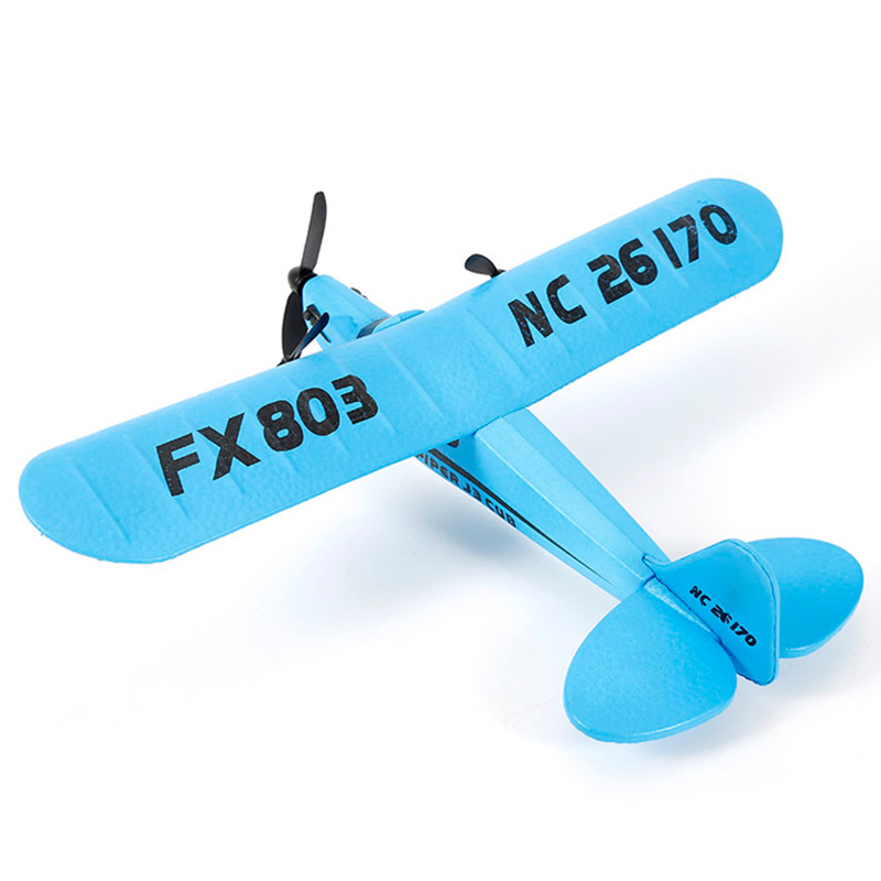 FBIL-Remote Control Airplane 2.4G 2Ch Remote Control Rc Airplaine Glider Airplane Foam Funny Toys for Kids Children Best Gift image