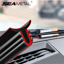 Car Dashboard Seal Strips Noise Insulation Automobile Rubber Auto Windshield Sealing Gap Stickers Sound Accessories