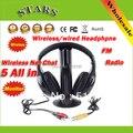 5 в 1 HIFI Беспроводные наушники Наушники Гарнитуры беспроводной Монитор FM радио для MP4 PC TV аудио