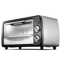 Мини бытовой Инструменты для тортов 12L механические Управление электрическая духовка пиццы для выпечки хлеба жаркое Многофункциональный ф