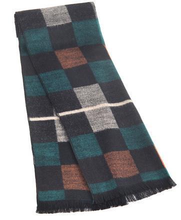 Новое Прибытие известный дизайн Мужчины шарф высокое качество мужчины моды шарфы обертывания популярный пункт шарфы