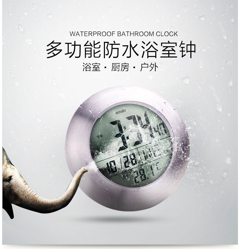 decorative bathroom wall clocks,