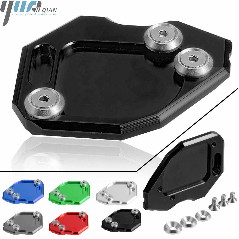 Side Stand Enlarge Plate Kickstand Extension For BMW F800GS F800 GS 2008-2015