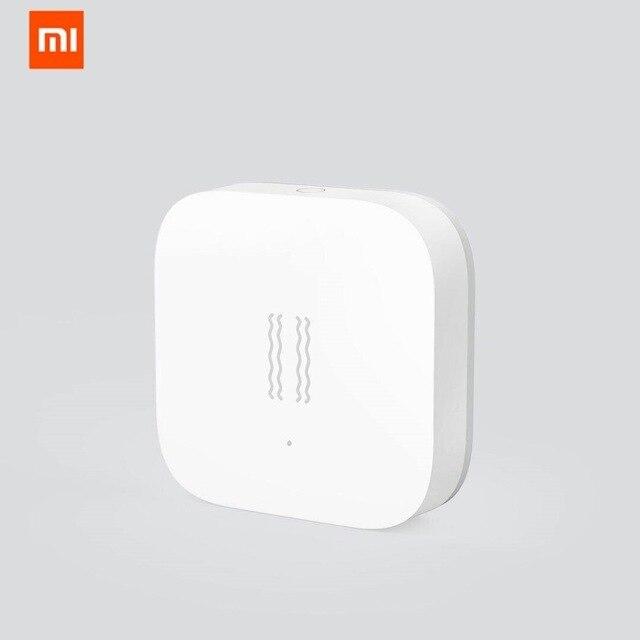 HOT Xiaomi Aqara Zigbee Shock Sensor Aqara Smart Motion Sensor Vibration Detection Alarm Monitor for MiHome Aqara Mi Home App
