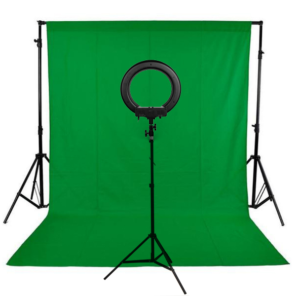 Background Stand Kit 240LED Photographic Lighting Dimmable Camera Photo Studio Phone Video Photography Ring Light Lamp 2m Tripod free shipping stage par cans viodeo follow spoit photo light tripod photographic equipment studio light stand kit tripod kit