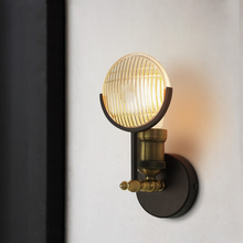 цена на Vintage Industrial Wall Lamp LED Wall Sconces Living Room Stair Aisle Bedside Cafe Bedroom Lamp Iron Wall Sconce Light Fixture