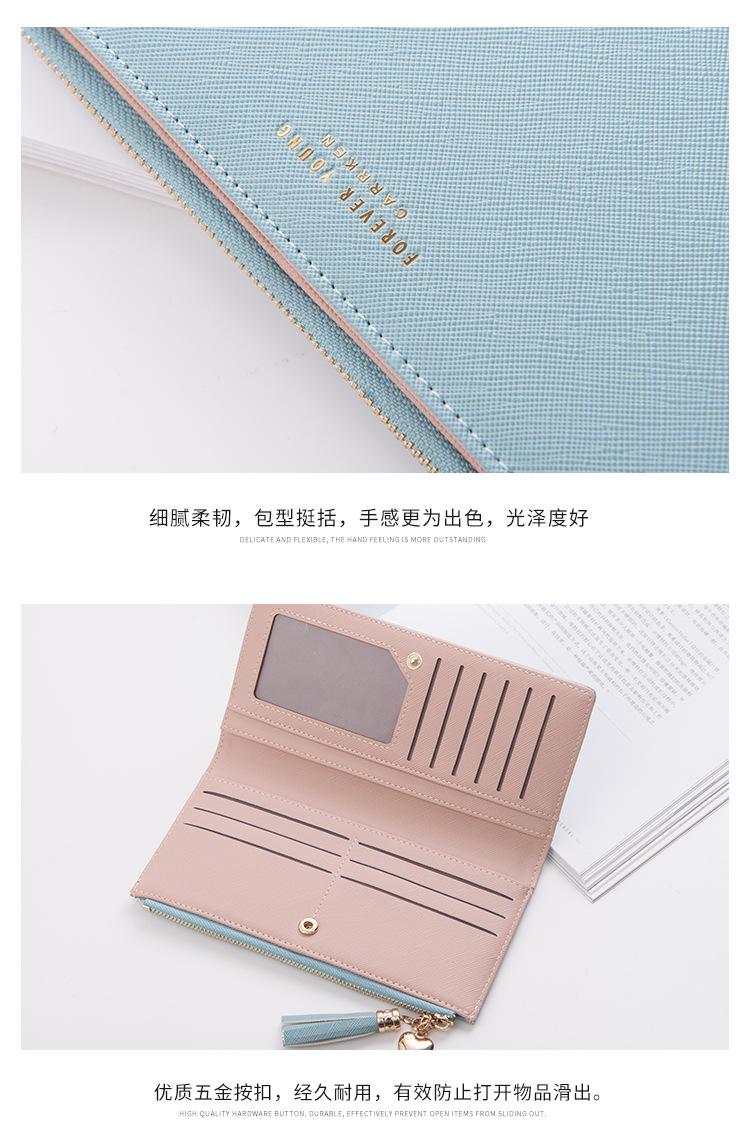 милый бумажник женщины; фиолетовый кошелек; Стиль: Стиль: Мода; Сач;
