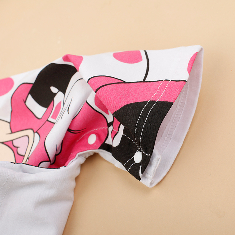 Hot-fashion-Cartoon-Baby-Rompers-Short-Sleeve-Cute-cotton-kids-Clothes-boys-Girl-Jumpsuits-Roupas-De-Bebe-Infantil-Baby-Clothing-3