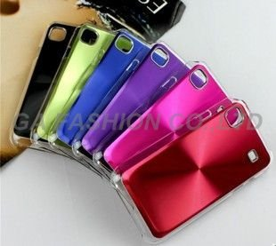 Free Shipping,High Quality Phone Case,PC + Aluminum Hard Case Hard Cover for Samsung Galaxy S i9000