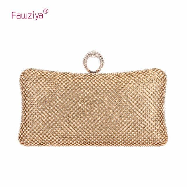 f67287f64 Fawziya Bling Ring Clutch Purse Women Rhinestone Clutch Evening Bags And  Clutches