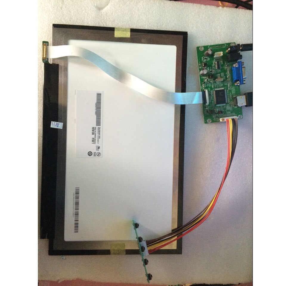HDMI VGA LCD EDP Board Controller kit for  HB156FH1-301 401 402 1920X1080 screen