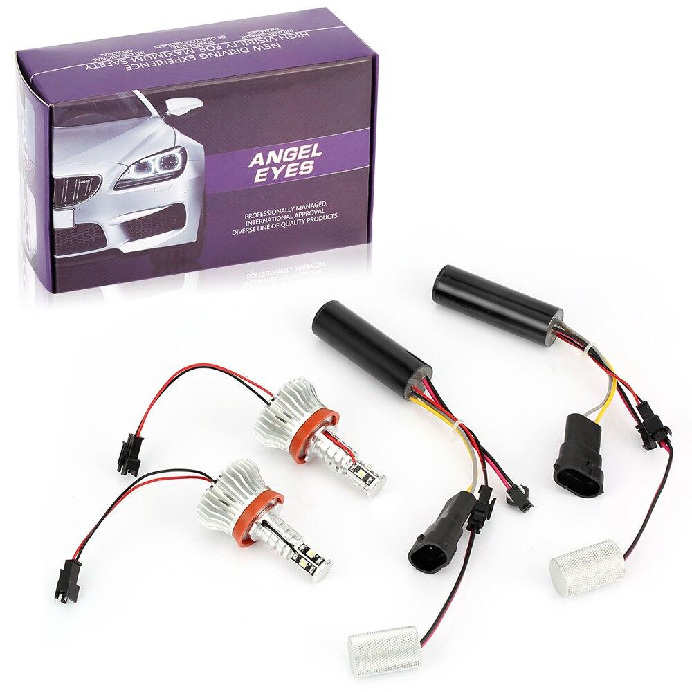 H8 LED Angel Eyes Standlicht für BMW E90 E91 E92 E93 E60 E61 E70 E71 E72 E84 E89