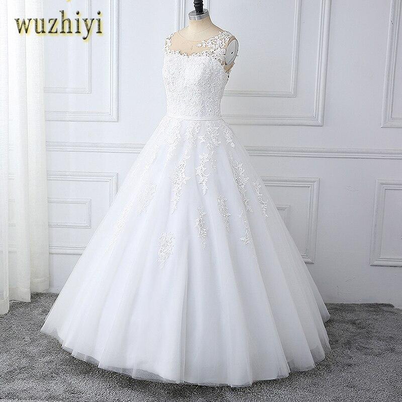 Real Simple Weddings 2017: Wuzhiyi Vestidos De Novia Simple Wedding Dresses 2017 Robe