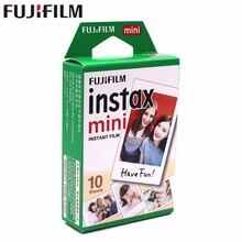 Fuji Fujifilm instax mini 8 แผ่นฟิล์ม 10 แผ่นสีขาวขอบฟิล์มสำหรับ Instant instax mini 8 7 วินาที 25 50 วินาที 90 9 กระดาษ