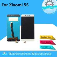Хорошее M & Sen для Xiaomi 5S Mi5s M5s ЖК-дисплей экран + Сенсорная панель планшета белый/черный Бесплатная доставка