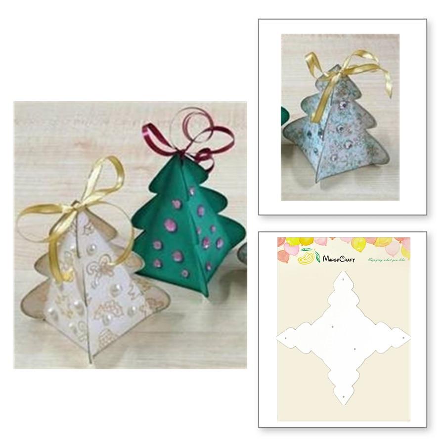 DIY Christmas Tree Car Metal Cutting Dies Scrapbook Paper Card Craft Decor