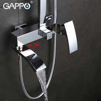 GAPPO Shower Faucets bath tub taps bathroom shower set mixer faucet basin faucets basin sink tap shower system