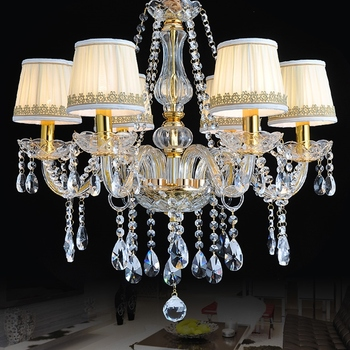 Maria theresa chandelier Kitchen Dining room Bedroom led salon lighting 6 Lights Lampshades Candle modern chandeliers prices