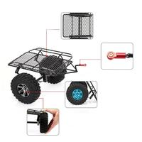 1/10 Remote Control Climbing Car Small Trailer High Grade Metal Wheel Modification Accessories For D90 SCX10 Trx4