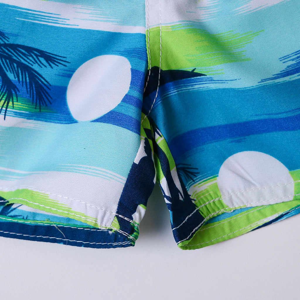 Womail erkekler şort yaz Baskı Yüzmek mayo Hızlı Kuru Plaj Sörf Koşu Yüzme Watershort Günlük denim renk dropship j24