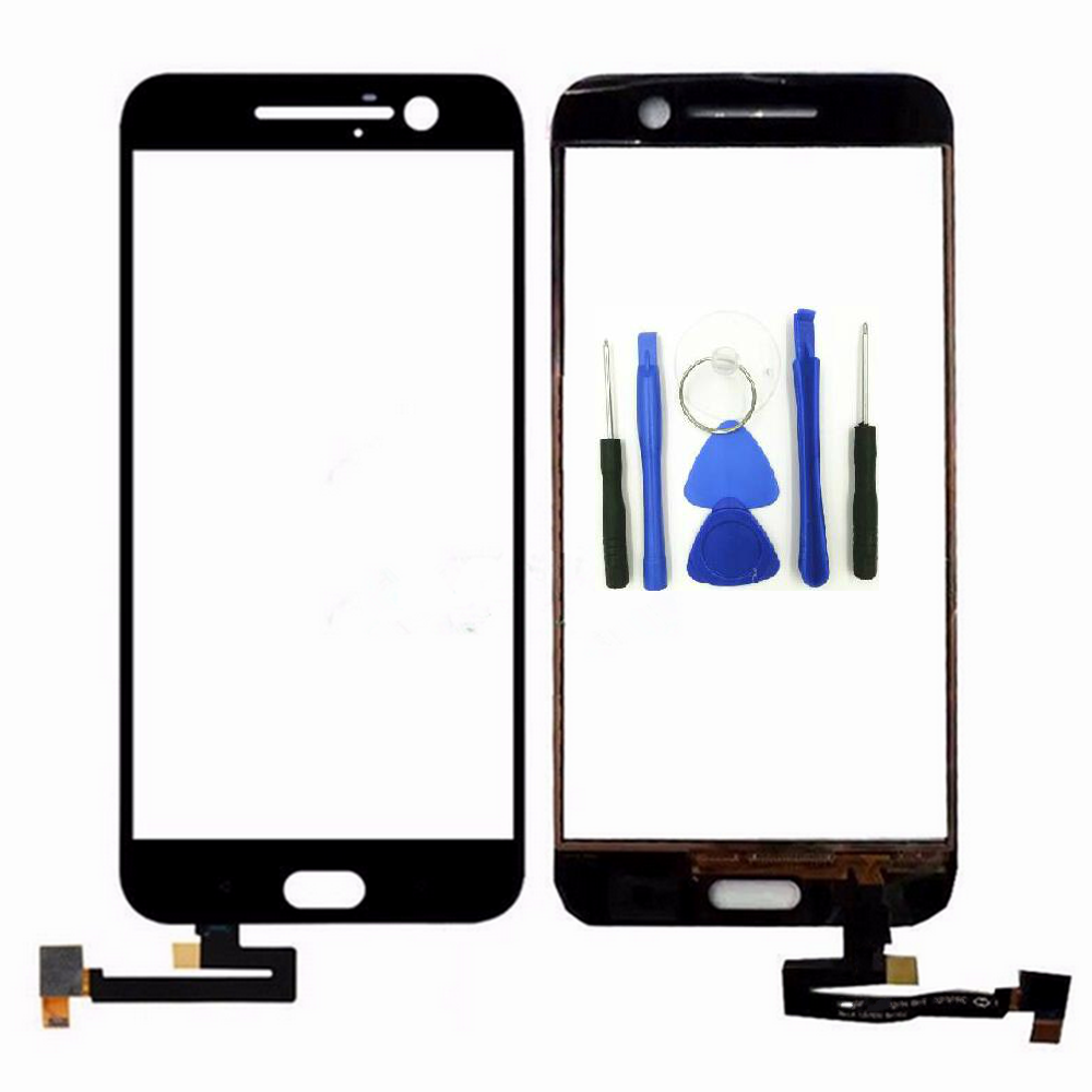 Vannego for <font><b>HTC</b></font> 10 One <font><b>M10</b></font> Touch Screen Front Outer Glass Panel Digitizer Replacement <font><b>Repair</b></font> Parts image