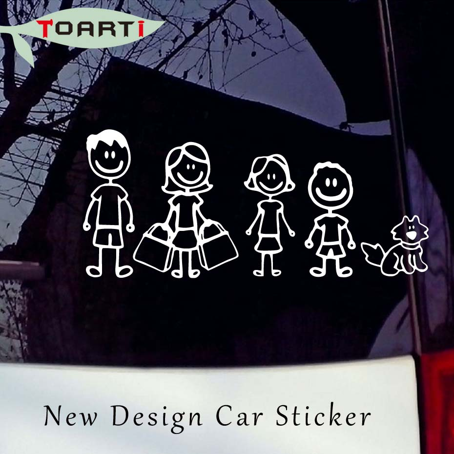 High Quality Funny Family Car StickersBuy Cheap Funny Family Car - Unique family car decals