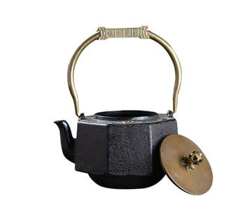 Cast iron pot harmonious teapot kung fu tea craft pot