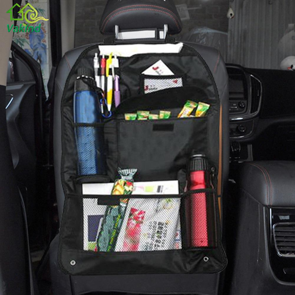 car seat back storage bag organizer travel box pocket. Black Bedroom Furniture Sets. Home Design Ideas