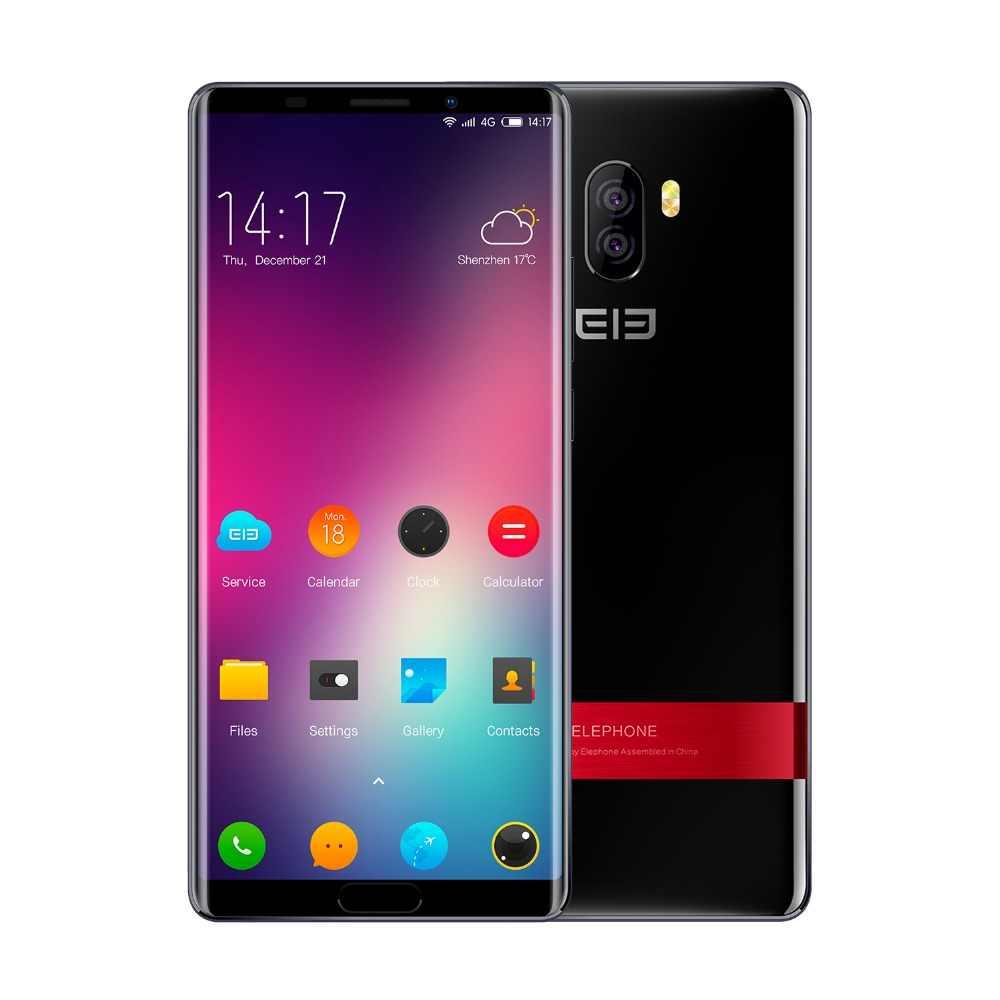 Elephone P11 3D 4G LTE 6,0 дюймов Android 8,0 Helio X25 Deca Core 2,5 ГГц 4 Гб ОЗУ 64 Гб ПЗУ 16,0 Мп задняя камера датчик отпечатков пальцев 3