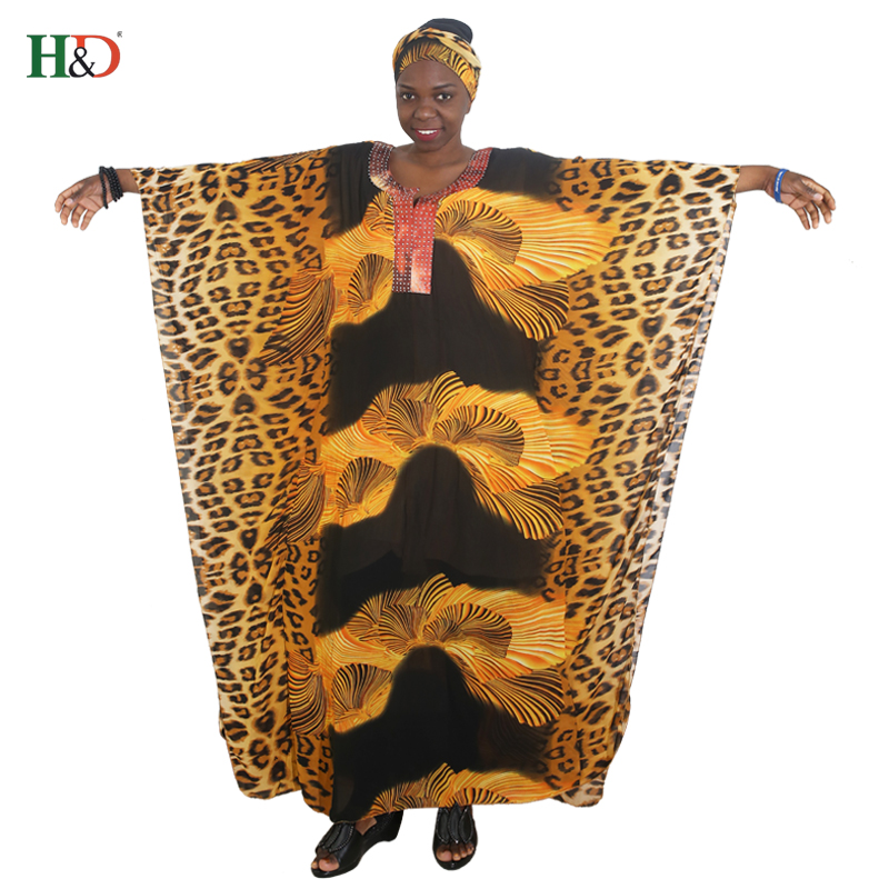 african women long robe leopard басылған бос maxi - Ұлттық киім - фото 4