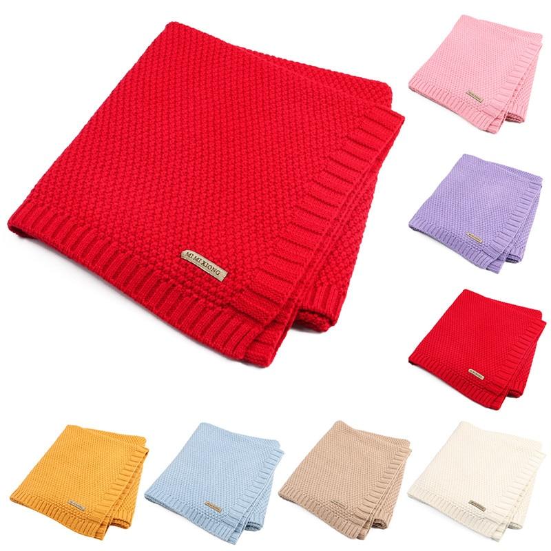 Elephant/Star Pattern Newborn Baby Blanket Air-conditioner/Sleep Blanket Plush Baby Blanket Swaddle Wrap Super Soft Blanket